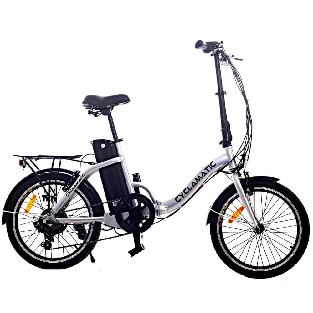 cyclamatic folding bike