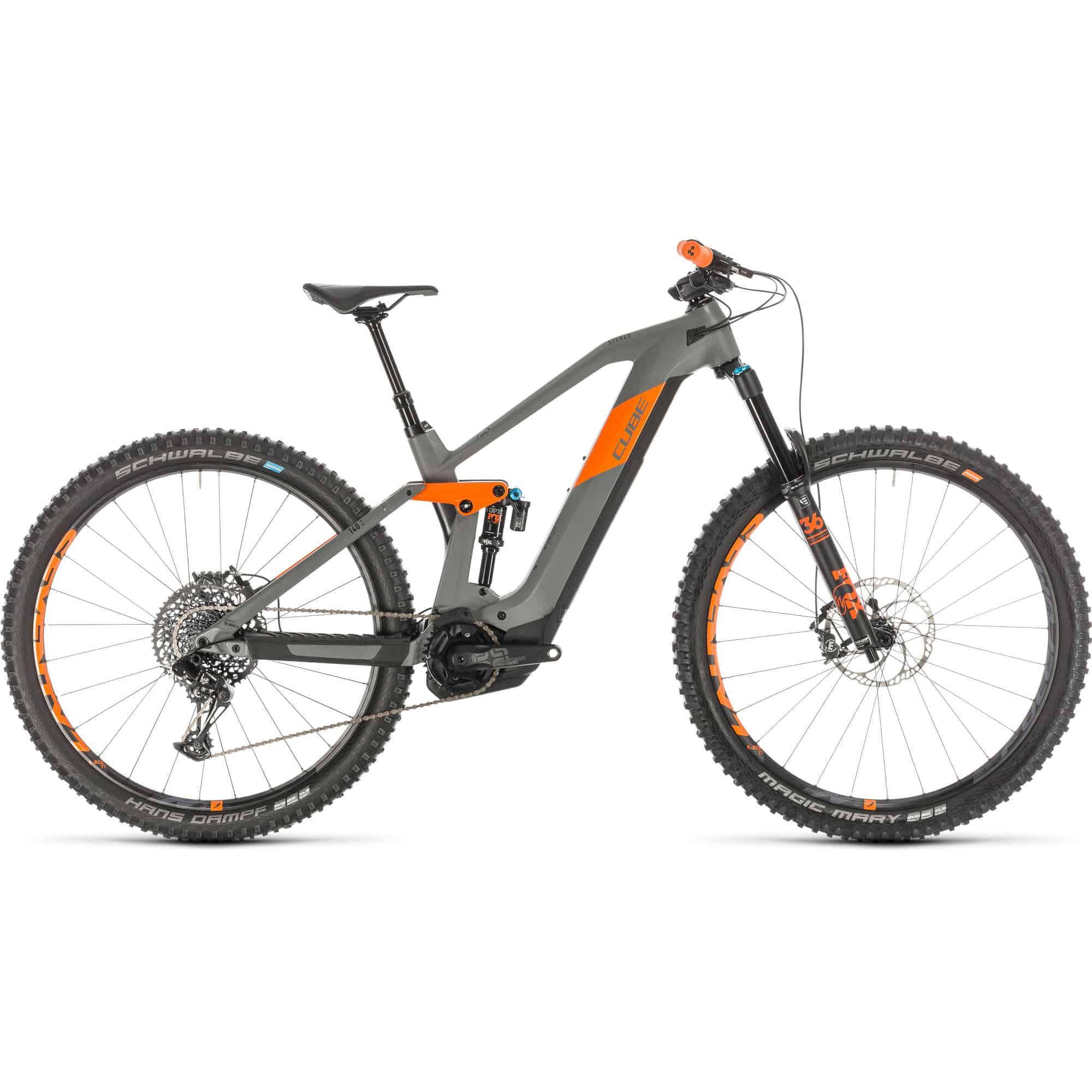 cube stereo 140 hpc hybrid TM 625 29 electric bike 2020