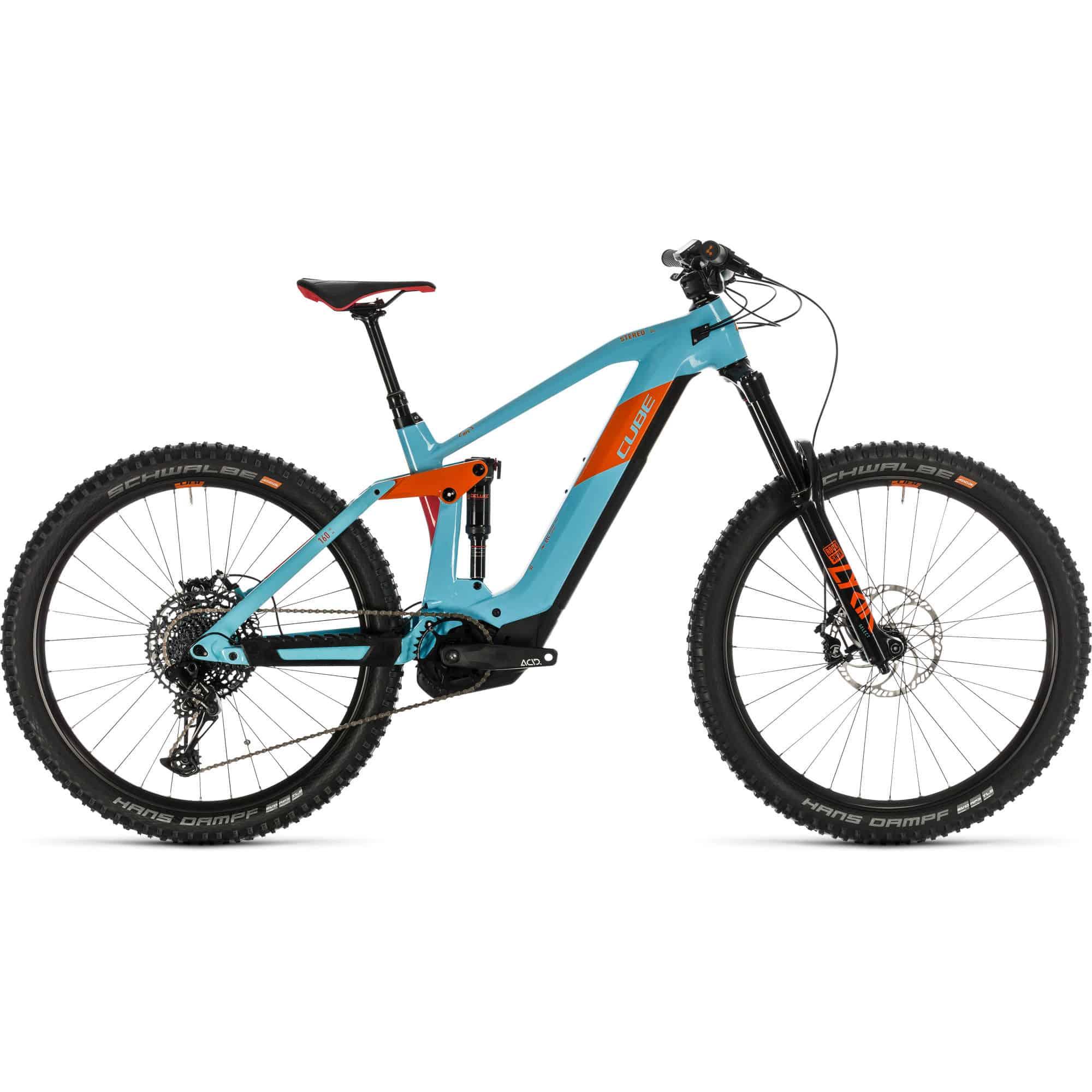 cube stereo 160 hpc sl 625 electric hybrid bike