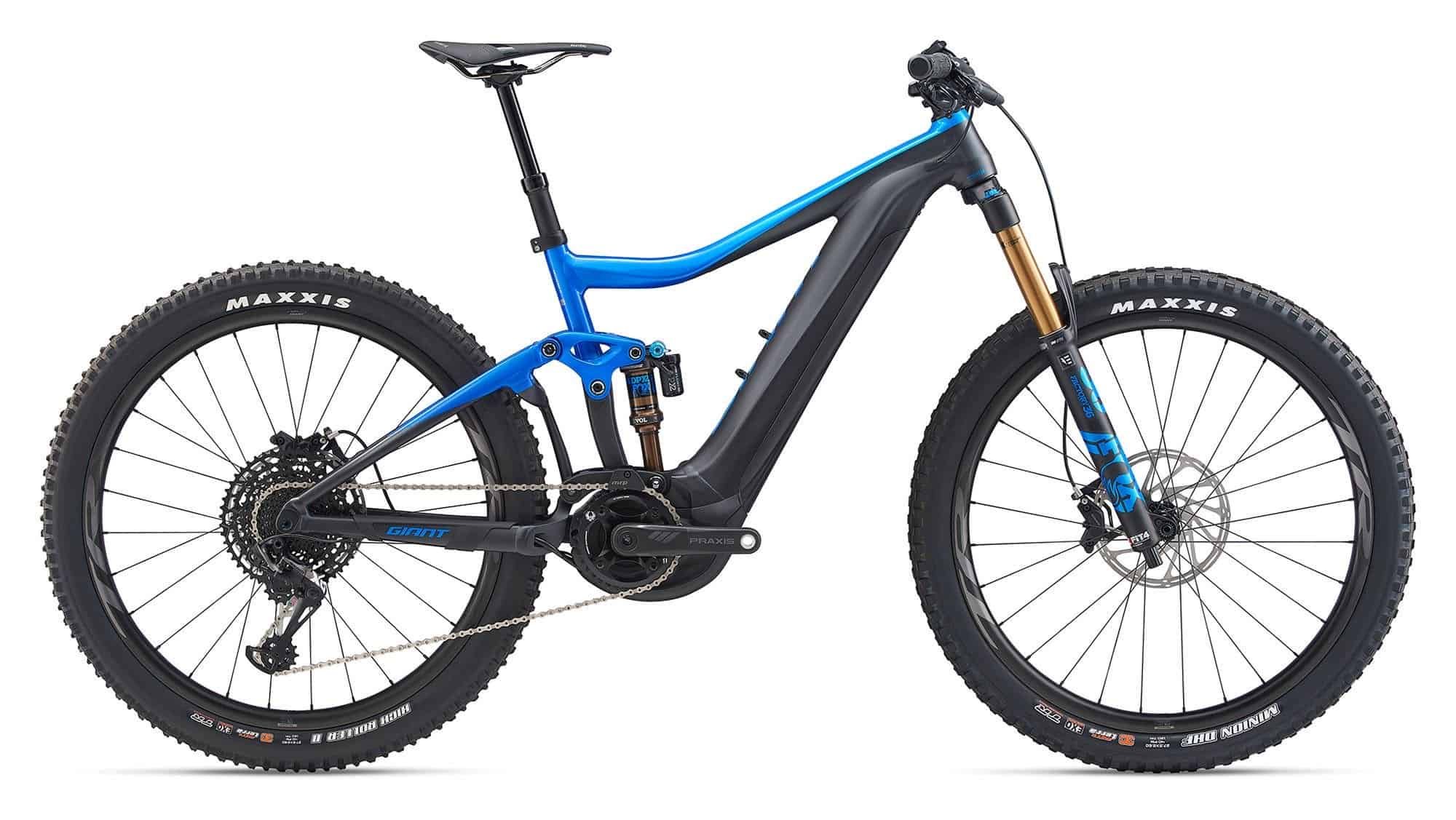 giant trance E+0 pro 650b electric mountain bike